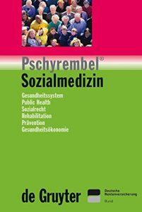 "Cover ""Pschyrembel Sozialmedizin"""